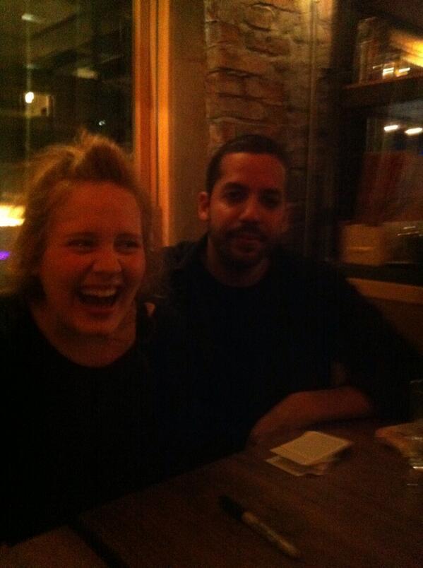 Adele e David